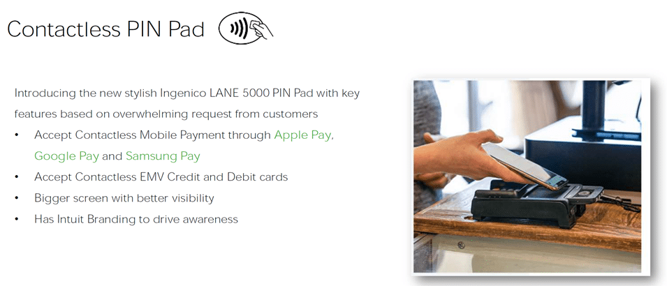 Safe and Contactless POS Pinpad